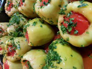 Punjene paprike sa mlevenim mesom - Ručak -1