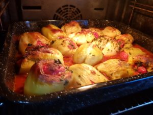 Punjene paprike sa mlevenim mesom - Ručak -2