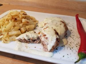 Juneci burgeri sa feta sirom u pesto sosu - Ručak - 3