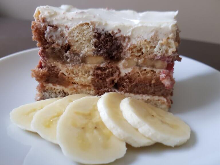 Voćni kolač sa piškotama - Slatko - 2