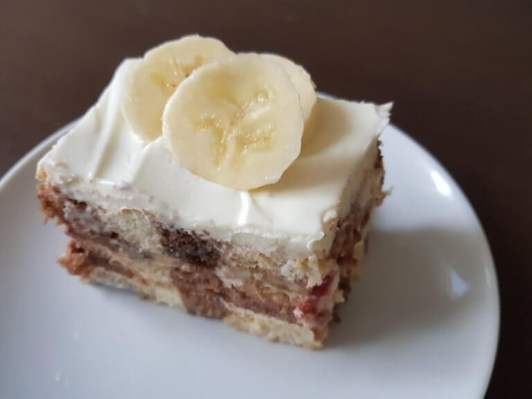 Voćni kolač sa piškotama - Slatko - 4